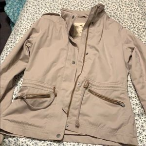 Hollister Rain Coat